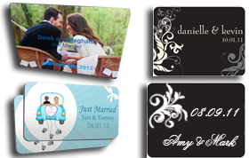 Wedding Prints/Stickers & Magnets/Magnets